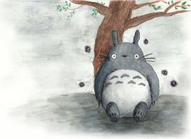 Totoro by TurquoiseSpark