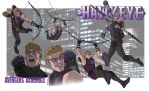 AVENGERS ASSEMBLE: HAWKEYE by Jerome-K-Moore