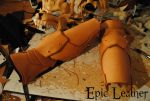 SCA Vambraces WIP by Epic-Leather