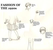 Fashion of the 1920s by TheRandomAnchovy