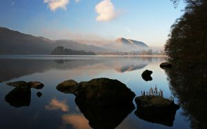 Rocky View Coniston Lake by SilverShadow17