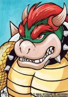 ACEO - Bowser by KytheraOA
