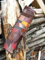 Barbrarian leather quiver by Glapsvidur