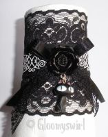 Kitty n rose cuff by Gloomyswirl