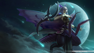 Heroes of Newerth - Moon Queen by alexweeks