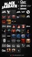 Black Sabbath Icons by g-Vita