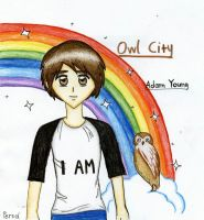 Owl City _ Adam Young _ Anime :) by SpongePersa
