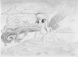 Rainbow Dash's new wings by RatchetHuN