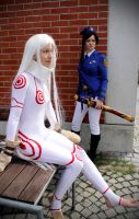Deadman Wonderland: Makina and Shiro by Hansku