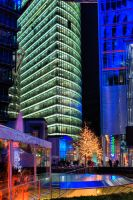 Berlin at night HDR No1 by freaky-x