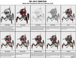 Process - Robot SD-4815 by Sawuinhaff