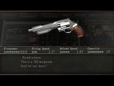 Handcannon RE4 by MerihemXx