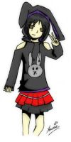 TWEWY Self in TWEWY clothes by hikari-twilight
