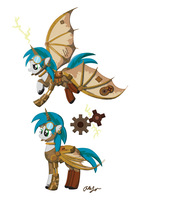 Steampunk Ponies Mascot Contest Entry by InkRose98
