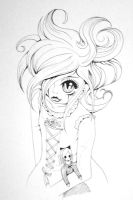 scary victorian girl XD by ZakariasEatWorld