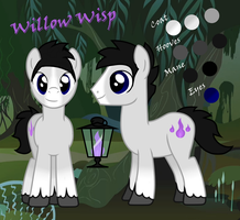 Willow Wisp -REFERENCE- by partiallyBatty