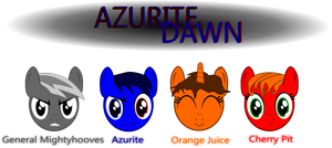 Azurite Dawn cast by Tandyman100