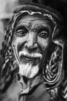 Old Arab Smile by MixMiner
