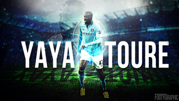 Yaya Toure by Footygraphic