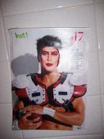 Tim Curry as a Football Player by blackasyoursoul