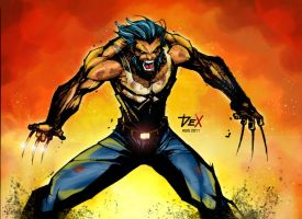 Wolverine colored by Absalom7