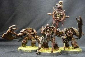 Death Guard Terminator's Close by Solav