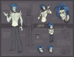 Janus: Character Sheet by Riokri