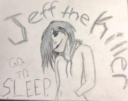 Jeff the Killer by grellXsebastianX