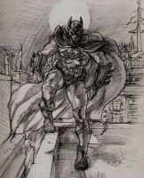 The Dark Knight by Aranthulas