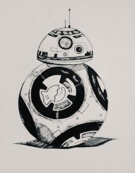 BB-8 Inked by TruiArts