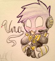 Drawing Challenge Day 268: Chibi Vince by hayy1