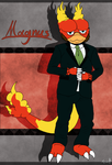 Magnus the Magmar by AquatheOhioKitty