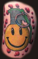 Smiley Grenade by Mr-Taboo