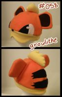 Growlithe hat by Hazuza