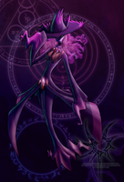 Anthro Mismagius by Aniseth-LightWing