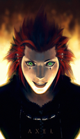Axel Portrait by SterlingTuttle