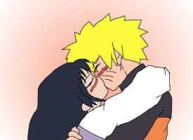 NARUHINA KISS by yinyangswings