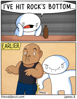 Rocks Bottom by theodd1soutcomic