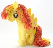 First Spitfire - Knitted Plush by SparkAbsurd