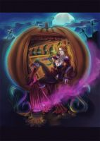 Halloween: Witch by GrayInBlack