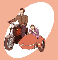 TW: Sidecar!! by threesteps