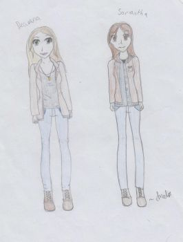 Winchester Sisters by Melmemoo