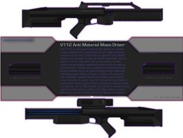 V112 Anti Material Mass Driver by OutFoxedTW