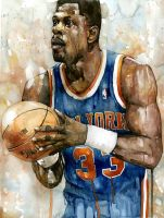 Patrick Ewing by Michael Pattison by MichaelPattison