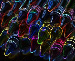 Crayons by Lilla-Gaupe