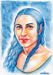 Luthien - water colours by Ingvild-S