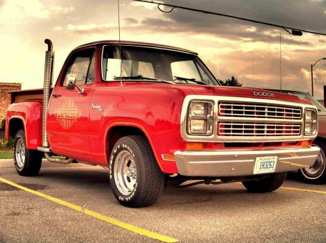 Dodge Lil Red Express Truck by 100kt-tape