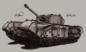 Churchill Mk.III by TimSlorsky
