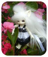 lilith in the flowers by arkaya