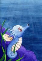 Horsea by superpsyduck